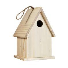 Fuglehus av tre til verandaen Panduro Hobby, Bird House Kits, Kit Homes, Bird Houses, My House, Outdoor Decor, Home Decor, Garden, Decoration Home