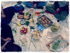 Summer picnic in the garden :)