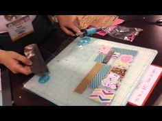 CHA 2015 - We R Memory Keepers Photo Fuse - customize page protectors with sealing tool