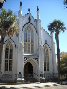 French Protestant (Huguenot) Church in Charleston, SC, organized around 1681.
