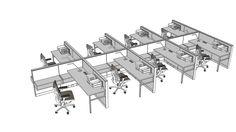 Herman Miller Jump_Space_009 - 3D Warehouse