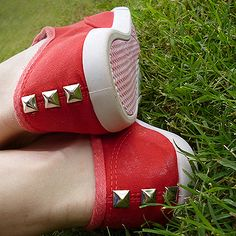 DIY Studded Keds!! I've been wanting some keds and now I have no excuse!