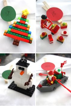 LEGO 25 Days of Christmas Countdown Building Advent Calendar