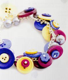 Fab Button Bracelet
