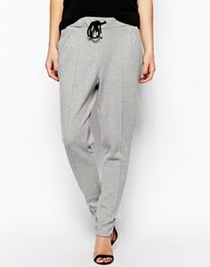 textured joggers. Counts as publicly acceptable.