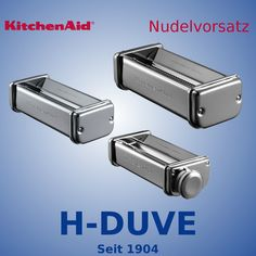 KitchenAid Nudelvorsatz 3 teilig KPRA in Haushaltsgeräte, Kleingeräte Küche, Rühren, Mixen & Zerkleinern | eBay