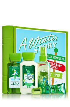 Bath and Body Works a Winter Story Gift Set Vanilla Bean Noel > Check out this great image : Travel Skincare Bath Additives, Whipped Body Butter, Bath And Bodyworks, It Works, Body Works, Fragrance Mist, Shower Gel, Travel Size Products, Deodorant