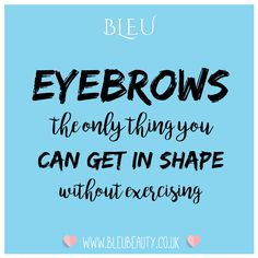"Brow ""Shape & Tidy"" @BLEU Beauty&Wellness Shaw, West Swindon."