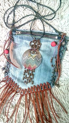 My first handmade bag in bohemian style. Boho, bohemian, gipsy, hippie, bags, handmade, craft - Are You A Boho-Chic? Check out our groovy Bohemian Fashion collection! Our items go viral all over the internet. Hurry