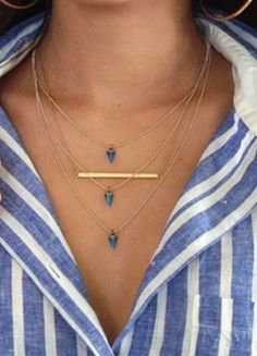 How to Layer Necklaces for Summer Fun