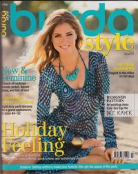 Burda magazine....supposed to have great sewing patterns and ideas.