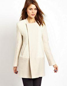 cd185c9e37cc4 Long Hair Beaver Fur Coat Fur Coat, Boucle Coat, Winter White, Fashion  Plates