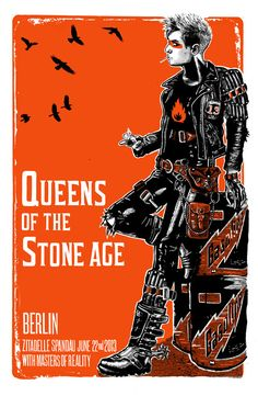 Queens of the Stone Age (Berlin Zitadelle Spandau) - Jacknife Prints