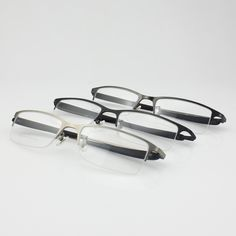 ba485b3b722a Pure Titanium Half Rimless Optical Eyeglasses Eyewear Men S Glasses  Prescription Glasses 8906