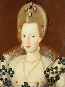 Anne of Denmark, 1590 - crowned Queen of Scotland