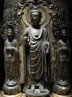 Baekje had two religions. However, the biggest one was Buddhism.