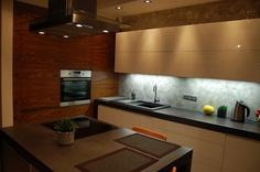 Współczesna kuchnia.  #kuchnia #dom #design
