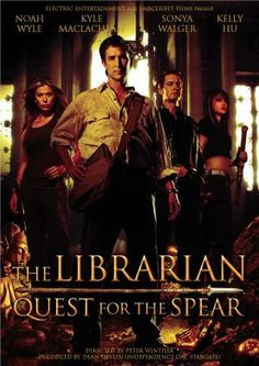 The Librarian - Quest for the Spear - 2004 - Noah Wile
