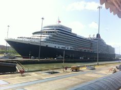Panama Canal in Ciudad de Panamá, Panamá - Definitely a cruise we would like to do!