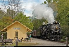 Nickel Plate Road 765 at Cuyahoga Falls, Ohio by ajbarber