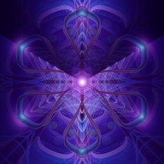 Sacred geometry illustration by George Ajami