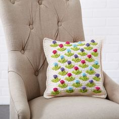 Grow a garden of blooming tulips on this sweet spring pillow. No water is required to keep these... FREE! thanks so xox