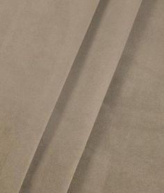 Bella Velvet Coffee Fabric