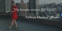 What is your favorite virtue?