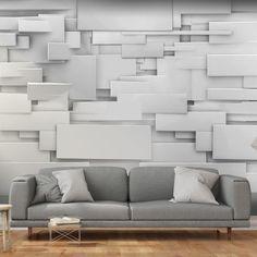 Photo Wallpaper Wall Murals Non Woven Modern Art Optical 3d Wallpaper Design, Wallpaper Panels, Modern Wallpaper, Wall Wallpaper, Photo Wallpaper, Stone Colour Paint, 3d Fantasy, 3d Wall Panels, Colorful Curtains