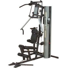 Body Solid G-Series Bi-Angular Home Gym with Multi-Hip Station and Dura-Firm Padded Seat (with lumbar Used Gym Equipment, Best Home Gym Equipment, Yoga Equipment, No Equipment Workout, Fitness Equipment, Home Gym Machine, Folding Treadmill, Benches For Sale, Bum Workout