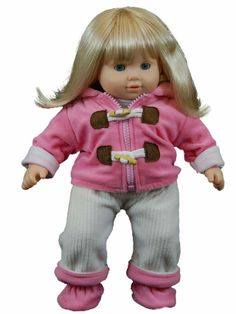 """BROWN Ice Cream Shirt PANTS Pink SHOES Doll Clothes For 18/"""" American Girl Debs"""