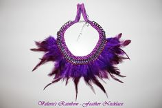 Feather Necklace #valeriesrainbow #necklace #feather #jewelry #handmade