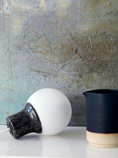 Pære med marmorfatning