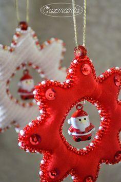 guzmania: новогодние игрушки