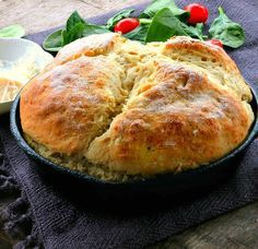 Irish Potato Bread is a delicious savory quick bread that doesn't require yeast!