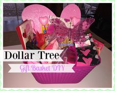 Valentines Day Gift For Teacher All From Dollar Tree Wire Basket