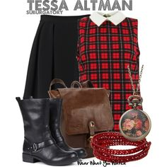 Inspired by Jane Levy as Tessa Altman on Suburgatory.