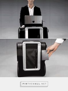 Smart Luggage Design: The Innovation-Packed G-RO - Core77 - created via http://pinthemall.net