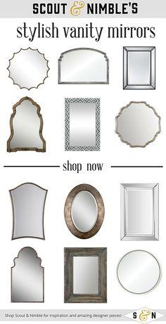Statement Vanity Mirrors | Scout & Nimble