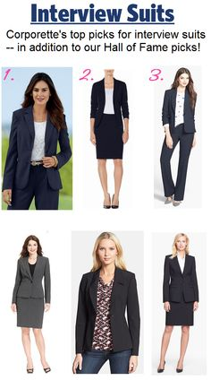 We rounded up our top picks for #interview #suits!