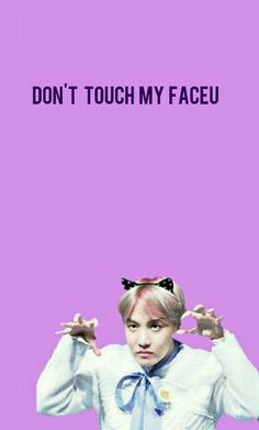 J Hope- Don't Touch My Faceu