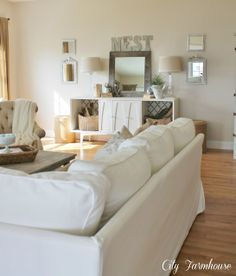 Ikea ektrop slipcover couch, love love it!!!