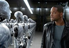 I, Robot - 2004, directed by Alex Proyas -after Detective Spooner (Will Smith) makes a public scene and misjudges a robot's intentions, later back at the station -  Police Captain: ...tell me what happened today?  Det. Spooner: Nothing  Police Captain: Better be the last nothing.