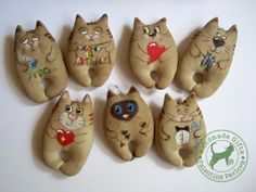 Handmade Gifts: Кофейные коты и котики.