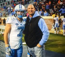 NFL coach Ricky Proehl quits to watch son Austin play his senior year at UNC.