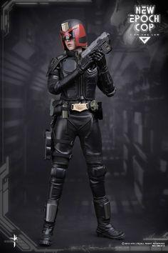 toyhaven: VTS Toys (VM-013) 1/6th scale New Epoch Cop aka Judge Cassandra Anderson 12-inch figure