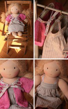 Vêtements poupée - tuto