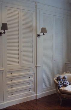 Idea :: Louver Closet Doors