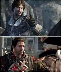 Assassin's Creed Rogue // Shay Patrick Cormac // Assassin and Templar From mehhh to yeahhhh! Assassins Creed Rogue, Assassins Creed Black Flag, Assassin's Creed Hidden Blade, Assassin's Creed Wallpaper, Vikings, Templer, Boys Like, Rogues, Anime Art