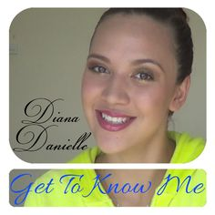 Makeup Tutorials, Getting To Know, Diana, Make Up, Cosmetics, Learning, Youtube, Studying, Makeup